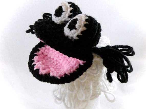 Black Sheep Little Kid's Hand Puppet - Made Just For Tiny Hands!