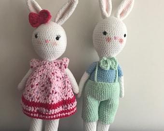 Mrs & Mr Bunny