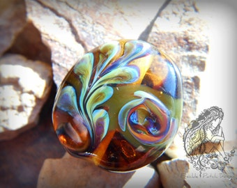 Memory Lampwork Glass Pet Cremains Focal Beads,  APPROX price,  Pet  Ashes.
