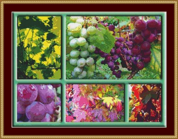 Autumn Frame Cross Stitch Pattern /Digital PDF Files /Instant downloadable