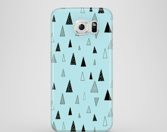 Raining Triangles mobile phone case / Samsung Galaxy S7, Samsung Galaxy S6, Samsung Galaxy S6 Edge, Samsung Galaxy S5 / doodle phone case