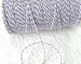 Lavender Baker's Twine 100 Yard Spool   Lavender Twine   Lavender and White Baker's Twine   Light Purple Twine   Light Purple Baker's Twine