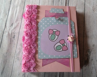 "Mini album ""Babay Girl"" GR: 16 x 21 cm"