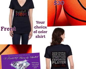 I Raised My Favorite Player Basketball Mom Shirt