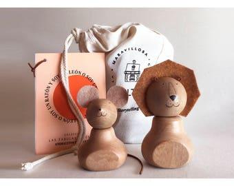 Wooden Animals (Magnet)