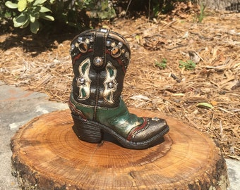 Western Boot Decor
