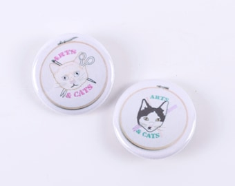 Arts & Cats Button Set Series II