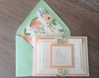 Deposit for Custom Wedding Invitations