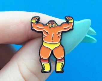 Hulk Wrestling Enamel Pin