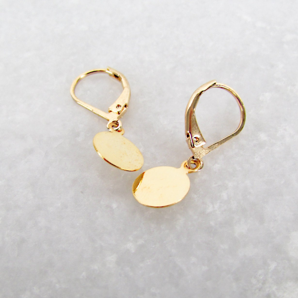vanessa lianne gold studs pave diamond small inez delicate products shaped earrings baby