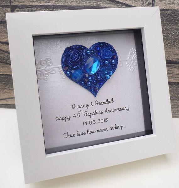 65th Wedding Anniversary Gift, 65th Anniversary Gift