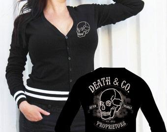 Death & Co. Cardigan 3XL