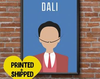 Salvador Dali Print Wall Art Poster Print Room Decor Dali Art Minimalist Gift Modern wall art Salvador Dali art Salvador Dali