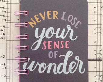Wonder - Mini Jotter Notebook, Pen Pals, Gifts