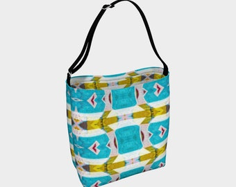 Every Which Way - Day tote bag, handbag, carry-all, knitting bag, shopping bag, purse
