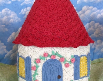 PDF Crochet Pattern- English Country Cottage Cozy