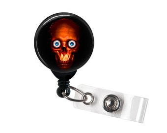 Java Ghoul, Retractable ID Badge Reel