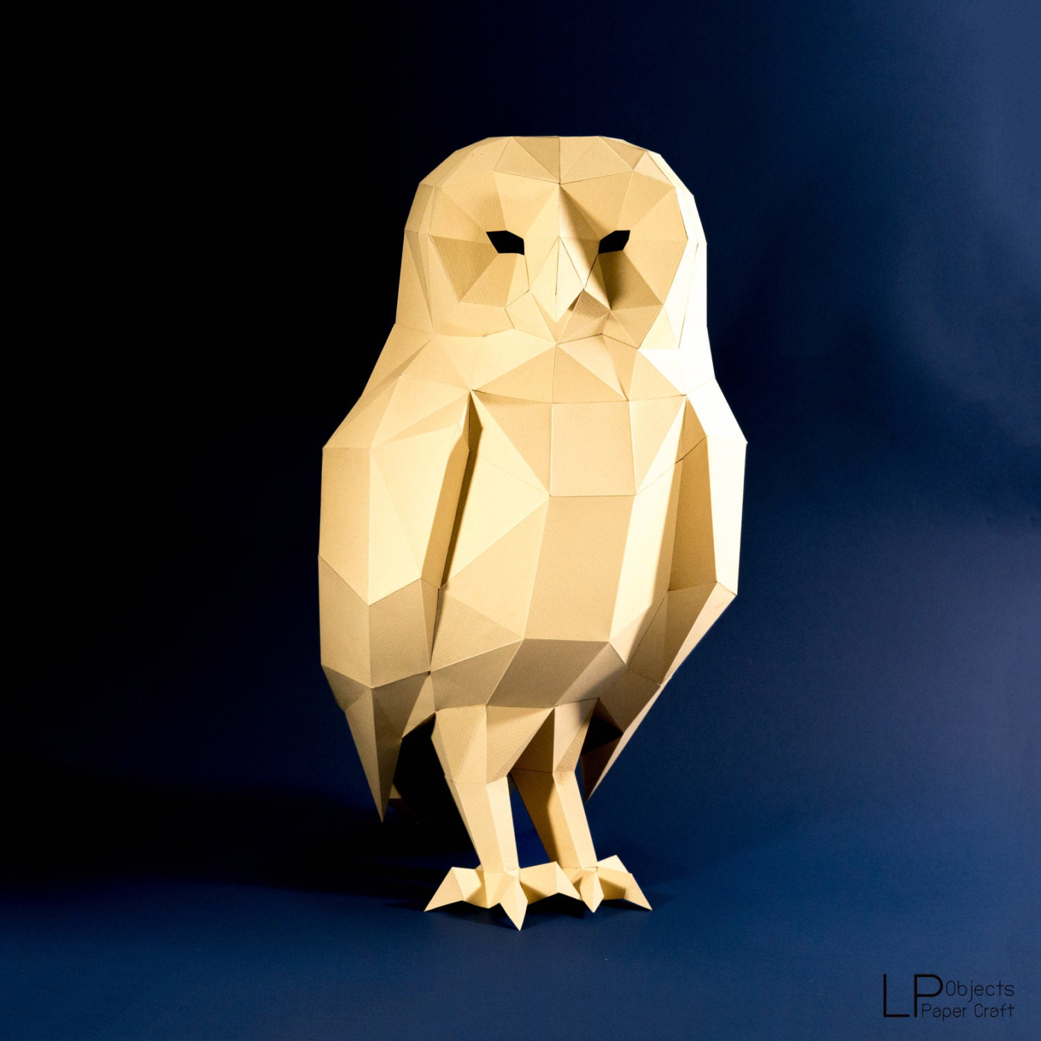 Owl model owl low poly owl sculpture owl paper zoom jeuxipadfo Image collections