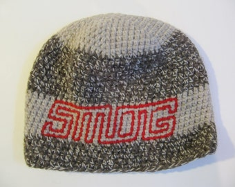 Wool Beanie with SMOG logo