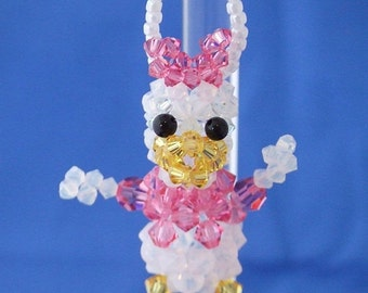 Daisy Duck in Swarovski Crystal