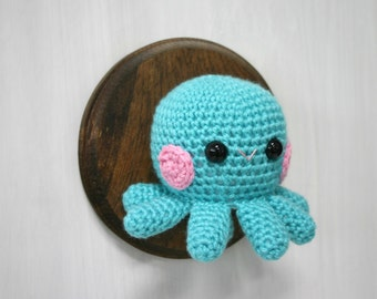 Crochet Taxidermy Cheeky Baby Octopus