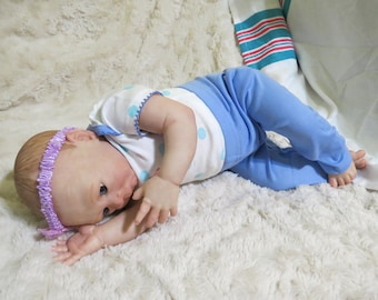 "Reborn Baby, Ready to Ship, ""Bethany"", Reborn Baby Girl, Reborn Babies,  Irelyn Kit, Life-like, Realborn"
