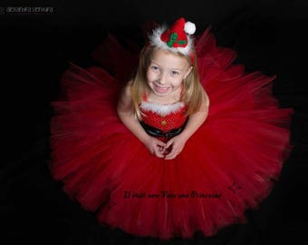 Tutu mother Christmas tutu dress