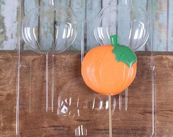 Pumpkin Lollipop Mold, Pumpkin Chocolate Lollipop Mold, Pumpkin Candy Mold, Thanksgiving Candy Mold, Fall Candy Mold, Chocolate Molds