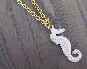 Necklace Seahorse