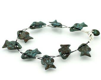 Flat Fish Bracelet Little Fish Copper Bracelet Flexible Bracelet