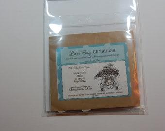 DESTASH - Unity Stamp Co Love Bug Christmas