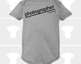 Photographer In Training - Baby Onesie