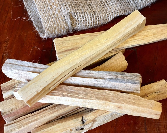 Palo Santo Incense Sticks   6 Palo Santo Smudge Sticks   Pure Palo Santo from South America   Great for Smudge Dense Energy Clearing