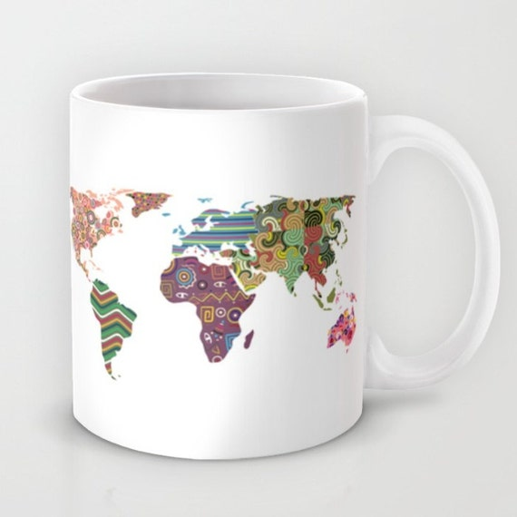 World map mug tea mug world map travel mug travel coffee gumiabroncs Choice Image