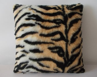 Pillow Case Tiger Plush
