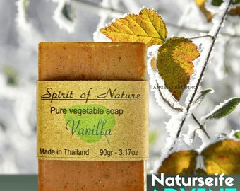 Christmas Soaps with fragrant vanilla