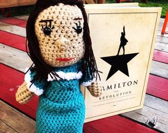 Crochet Elizabeth Schuyler Hamilton