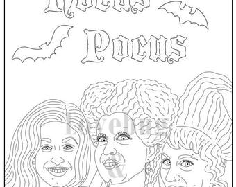 Hocus pocus book | Etsy