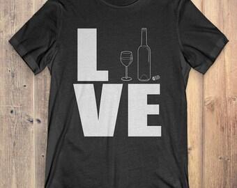 Wine T-Shirt Gift: Love Wine