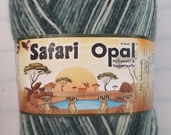 Opal Yarn - Safari color#9535 Sudafrika (South Africa)