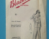 Vintage 1940s/1950s Black...