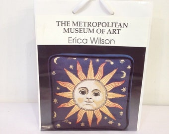 Sun and Stars Needlepoint Kit Erica Wilson, Metropolitan Museum Collection
