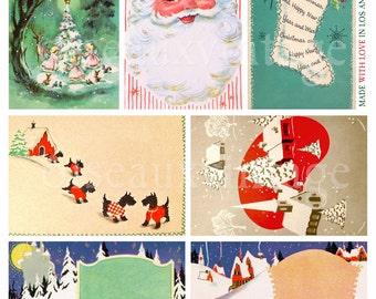Download: Vintage CHRISTMAS GIFT TAG Set - Print Your Own Vintage Loveliness - Grandma's Favorites