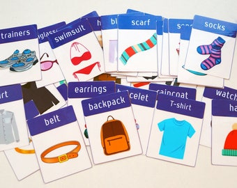 Clothes and Accessories Printable-digital PDF File
