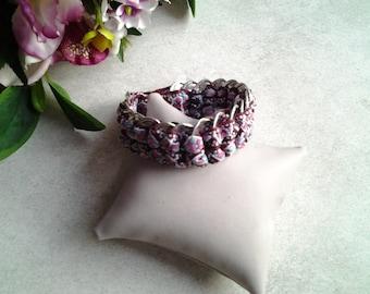 Ribbon Bracelet and vignettes of cans
