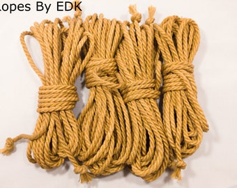Jute Bondage Rope Beginnners Kit Shibari Rope