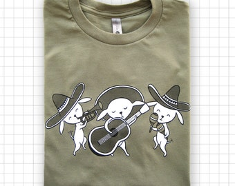 Chihuahua Mariachi Band Next Level T-shirt