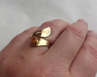 "November Birthstone Ring ""Citrine"""