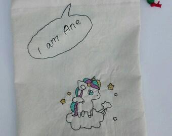 Bag fabric merienda-bolsa juguetes-bolsa Pencil Pouch