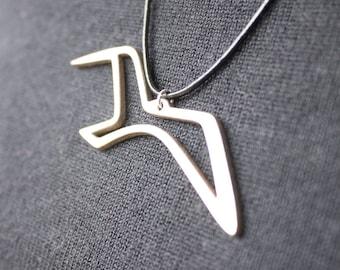 Bird Necklace, Seagull Pendant